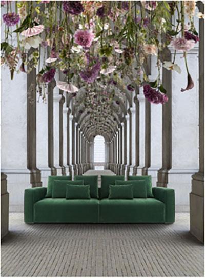 Az ID Design új katalógusában láttam meg ezt a gyönyörű zöld kanapét és egyszerűen imádom!