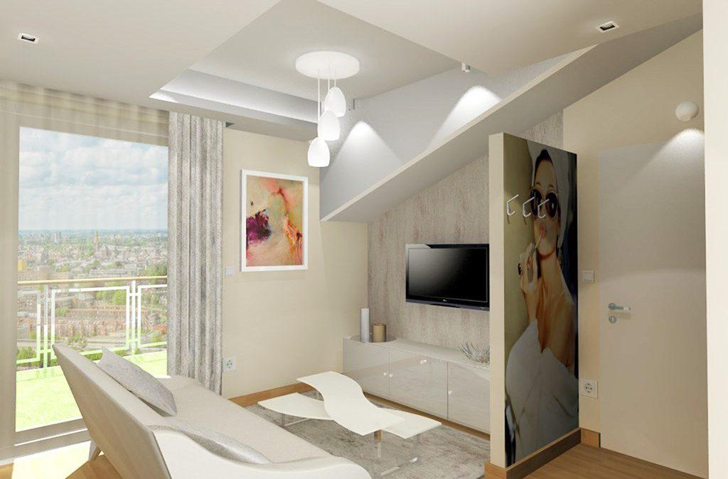 Modern glamour lakás