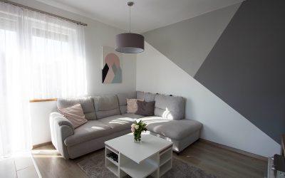 Modern living room-kitchen-dining room
