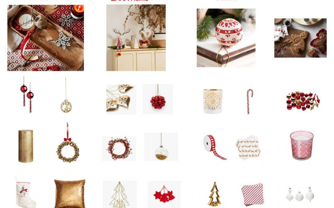 Piros-fehér-arany Karácsony