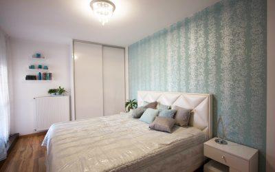 Modern feminine apartment