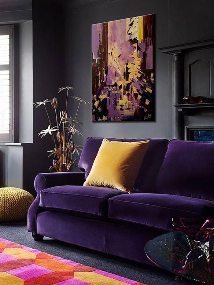 Nekem személy szerint nagyon tetszik lilával, nagyon kiegészítik egymást, mivel komplementer színek.