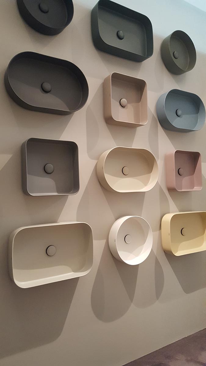 Színvariációk mosdóra a Ceramica Cielo-tól. http://www.ceramicacielo.com/