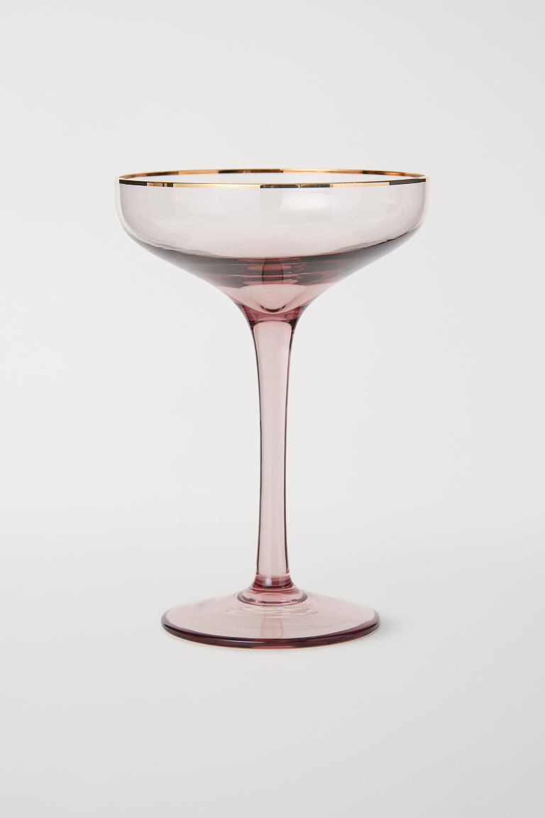 Champagne glass from H&M Home.