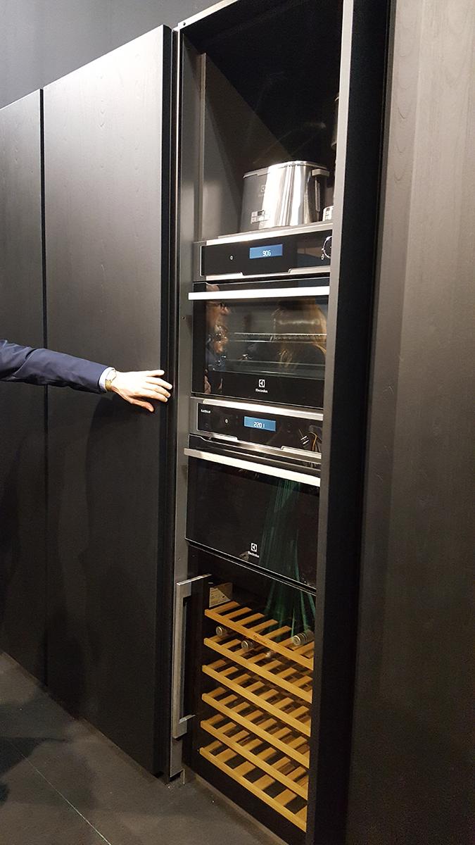 Opció beépített konyhai gépekre a Maistri-tól.