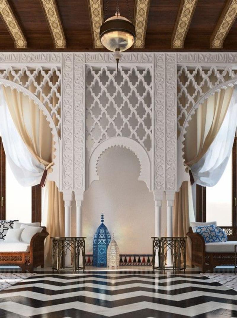 Ez már inkább palota, a türkizkék is tök jó ebben a közegben.