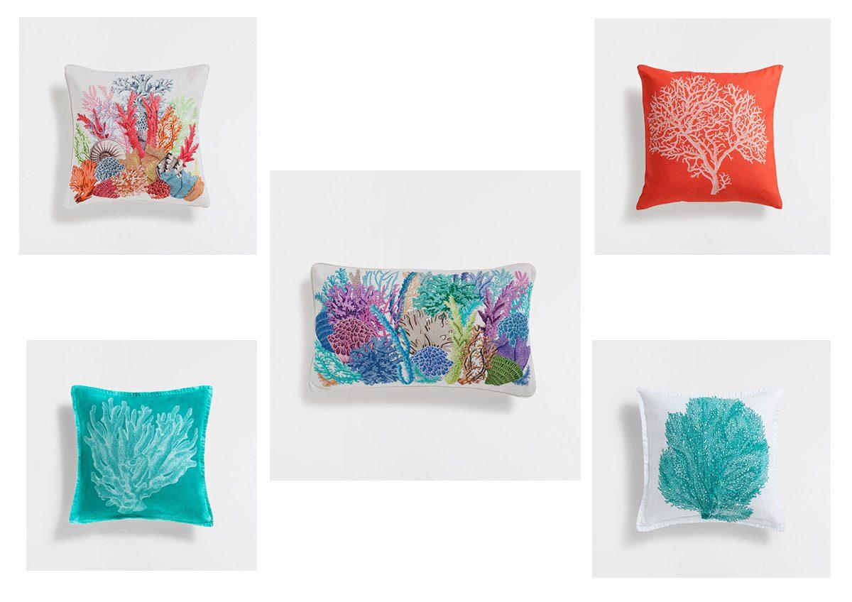 Korallos párnák (Zara Home)