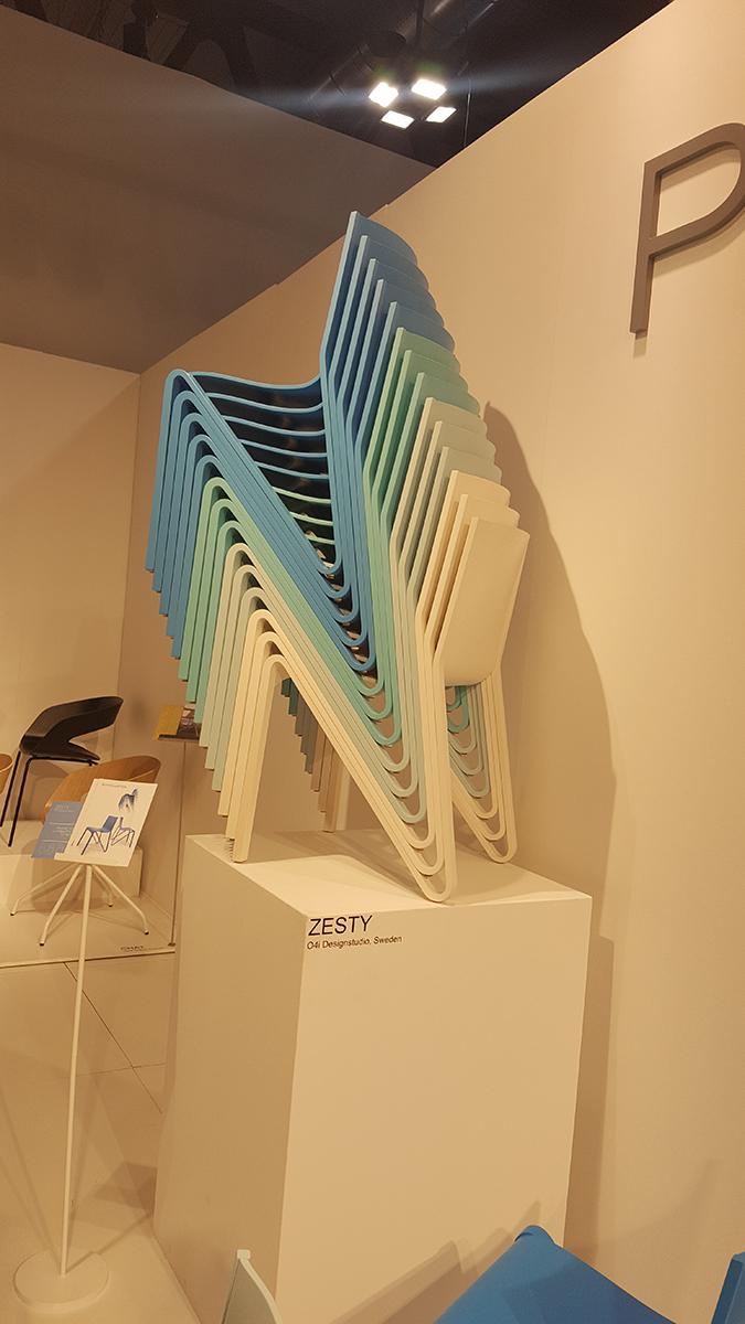 Egymásba rakható székek a Ply Collection-tól, http://www.plycollection.com/zesty