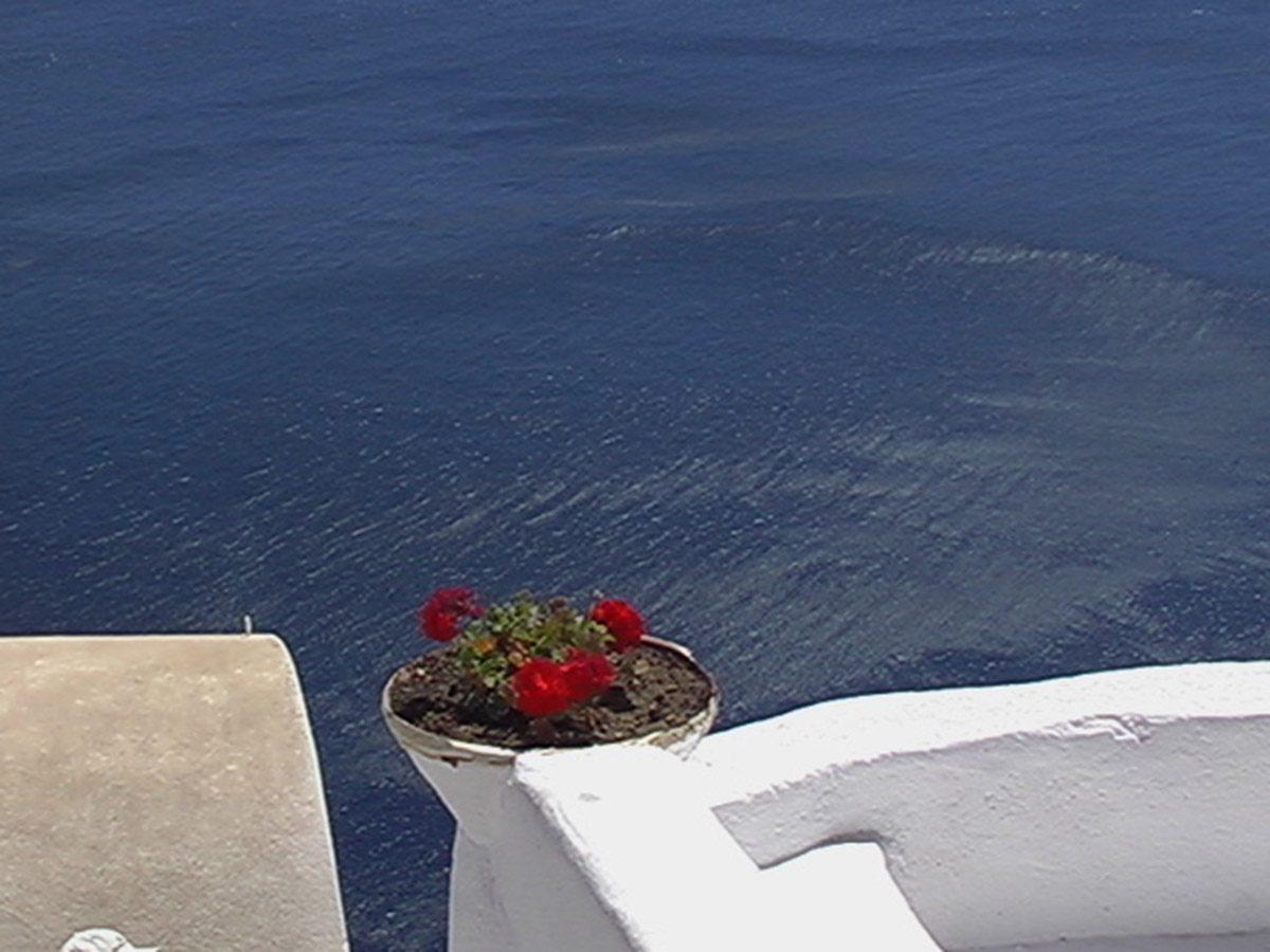 Santorini, a kép ami megihletett.