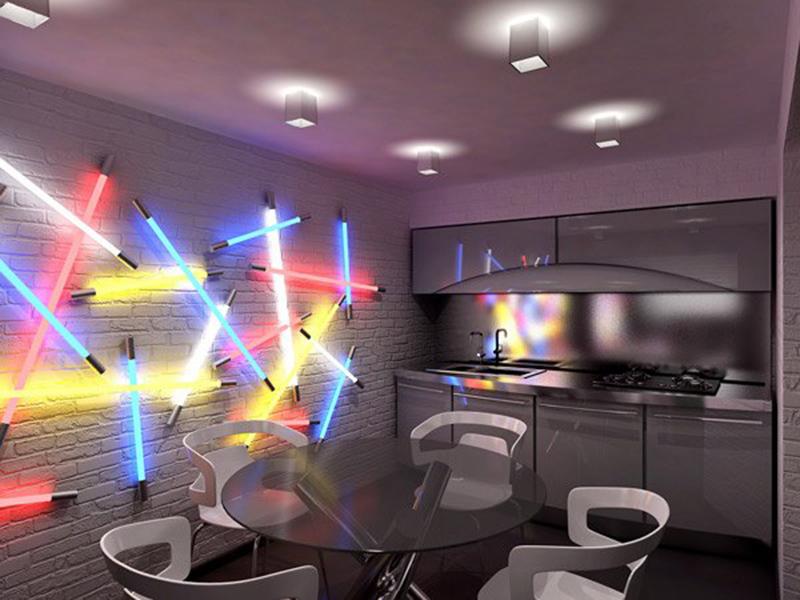 Étkező- konyha világítás